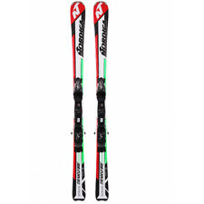 Ski Nordica Transfire RTX White/Green/Red  Winter Sports Equipment with Bindings