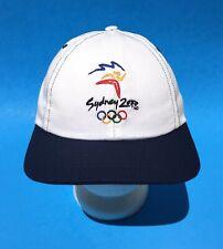 SYDNEY 2000 OLYMPICS Vintage Snapback White Hat Australia Millennium Collection