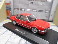BMW 6er Reihe Coupe CSI 635 635CSI E24 red rot 1982 NEU Minichamps 1:43