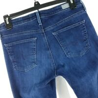 AG Adriano Goldschmied Women Jeans Size 26 Mid Rise Stevie Capri