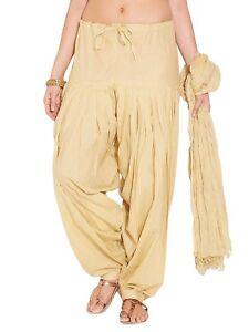 Women's Cotton Salwar and Chiffon Dupatta set Choose Your Color Choice