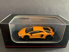 Kyosho Lamborghini Aventador SV Orange KS07065A2 1/64