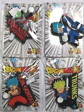 Dragon Ball Super LED Rubber Strap x4 Gokou Vegeta Trunks Zamasu Flash Anime F/S