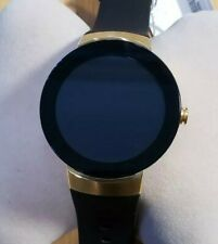 Movado Connect 3660014 Gold Tone Silicon Strap Men' s Smart Watch