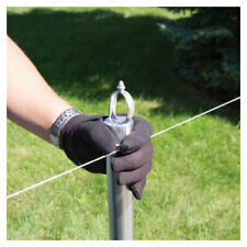 YardGard  4 in. H Aluminum  Chain Link Fence Post Kit