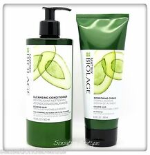 MATRIX Biolage Cleansing Conditioner 16.9 oz  & Smoothing Cream For Course Hair