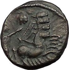 CONSTANTINE I the GREAT Cult  Heaven Horse Chariot Ancient Roman Coin i57467