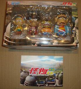 KAIBUTSU-KUN FIGURE SET SEVEN-ELEVEN 2011 CARLETTO IL PRINCIPE DEI MOSTRI