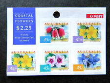Flowers Australian Stamp Booklets