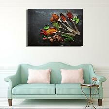 Unframed Kitchen Canvas Oil Painting Poster Print Home Decor Wall Art Picture A3