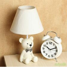 New Cartoon Bear Small Table lamp Desk light Reading lamp For Kids Room Lighting