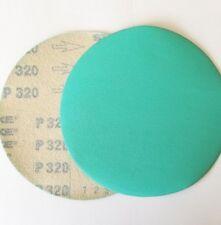 """5"""" Sanding Disc 10 Pack 320 Grit Hook and Loop Film"""