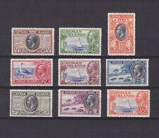 CAYMAN ISLANDS 1935, SG# 96-104, CV £31, Part set, MH