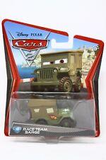 Disney Pixar Movie Cars 2 Race Team Sarge #15 Die Cast Mattel Vehicle Toy Car