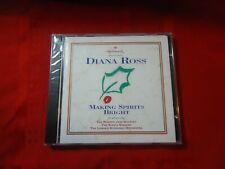 CD: Hallmark Presents DIANA ROSS Making Spirits Bright (1994) Christmas Music