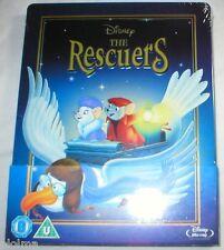 THE RESCUERS Brand New BLU-RAY STEELBOOK Walt Disney Movie Region-Free Import