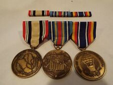 lot of 3 medals plus ribbons Global War on Terrorism Iraq Campaign Medal