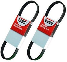 Bando Drive Belt Set(2 pcs)93-95 Mazda RX-7 m/t with A/C and P/S 6pk1045 5PK1355