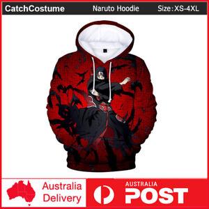Anime Naruto Itachi Uchiha Hoodie Men Women 3D Printed Sweatshirt Cosplay Jacket