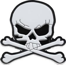 "Pirate Gift 1"" Badge Button Lapel 3663 Enamel Pin - Skull & Crossbones Skeleton"