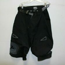 Men's Black Fox Racing Technical Pants - W/ Elastic Belt & Armor Pockets - Sz 32