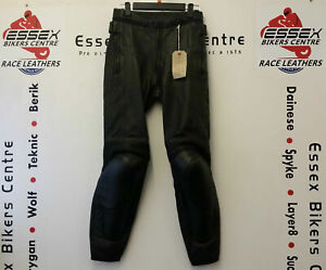 Dainese Mekong Ladies Leather Motorcycle Touring Sport Trousers EU 42 UK 10
