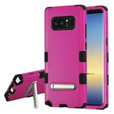 For Samsung Galaxy Note 8 Rubber IMPACT TUFF Hybrid KICKSTAND Case Phone Cover