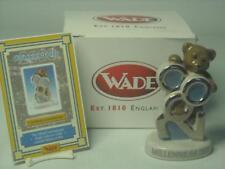 Wade-Millennium Teddy Bear figurine Coffret mai 2000 int Collectors Club COA