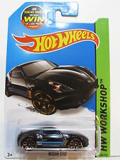 Hot Wheels 2015 Hw Workshop - Then & Now Nissan 370Z Black