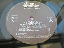 The Throbs THE LANGUAGE OF THIEVES AND VAGABONDS 1991 EU LP MINT UNPLAYED