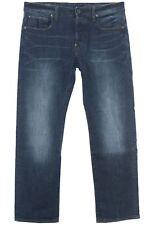 G Star Revend Straight Fit Jeans Hose Pants Herren Denim Medium Aged Used Look