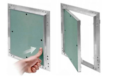 Heavy Duty Access Panel with Plasterboard Door and Aluminium Frame Revision Flap
