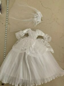 Popular Barbie Doll sized Clothes-1 pc Fashion Dress+1 Veil-ON SALE-BEST SELLING