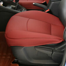 Red Color PU Leather 3D Full Surround Car Seat Protector Seat Cover Accessories