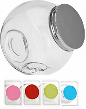 Air Tight Glass Penny Candy Jars Storage Glass Jars Choice Of Colours Lids