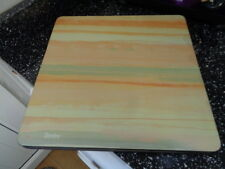 DENBY LARGE SQUARE PLACEMATS X 4