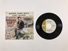 "DUANE EDDY Bonnie Came Back/Lost Island 7"" Jamie 1144 US '59 VG- Pic Sleeve! BX4"