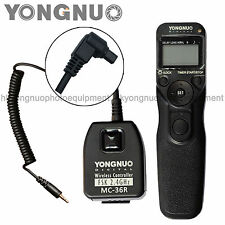 Yongnuo Wireless Timer Remote Control MC-36R for Canon 1D 5D 7D 5DII 50D 40D 30D