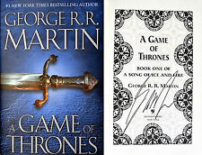 George R.R. Martin~SIGNED~A Game of Thrones~HC~BEAUTIFUL + PHOTOS!!!