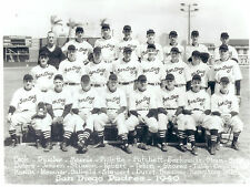 1940 SAN DIEGO PADRES PCL TEAM 8X10 PHOTO  BASEBALL CALIFORNIA