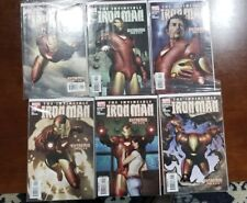The Invicible Iron Man 1-12 and Iron Man Director of Shield 21-28