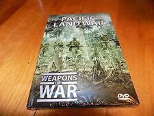 WEAPONS OF WAR PACIFIC LAND WAR History Marines US Marine Island Combat DVD NEW