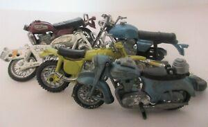 Britains Ltd, Polistil  and other Makes Motorcycles for Spares or Restoration
