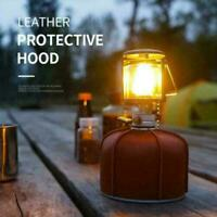 2021 Gas Tank Protective Case Cover Outdoor Camping Leather New Bag Storage W6V6