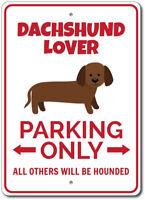 Dachshund Parking Sign, Dachshund Lover Gift, Dachshund Decor ENSA1002827