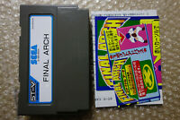 Final Arch + Flyers Sega ST-V STV Arcade Japan