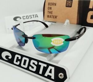 """COSTA DEL MAR tortoise/green mirror """"BALLAST"""" POLARIZED 580P sunglasses NEW! (M)"""