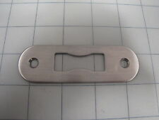 "Stainless Steel 4"" Door Keeper / Strike Plate NEW See Pictures"