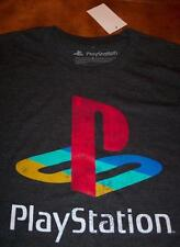 VINTAGE STYLE PLAYSTATION Video Game System T-Shirt LARGE NEW w/ TAG
