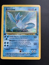 Pokemon Fossil 1999 #2/62 1st Edition Articuno Holo Amazing/Mint Condition